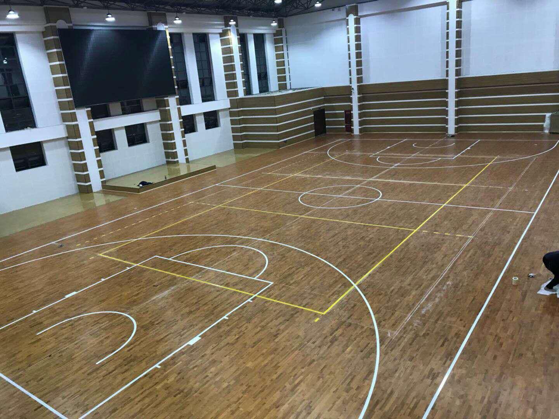 列五中学高中部篮球馆